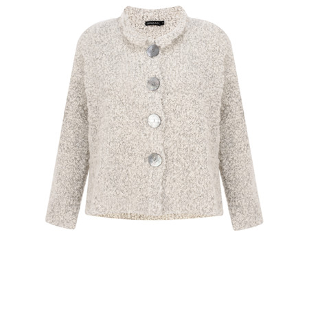 Grizas Bethan Wool Alpaca Jacket  - Blue