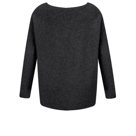 Fenella  Janey Rib Easyfit Jumper - Black