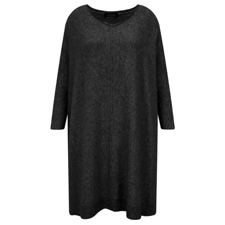 Fenella  Reva Oversized Supersoft Knit - Black