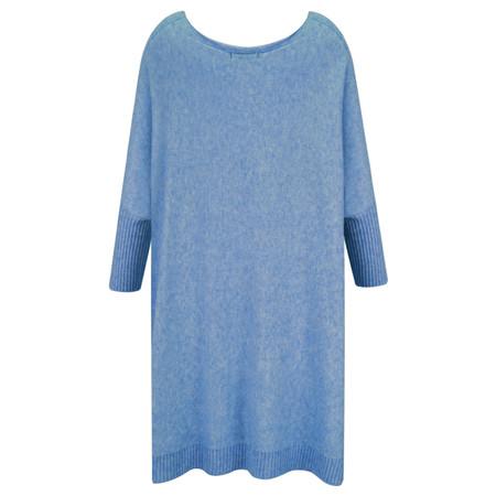 Fenella  Reva Oversized Supersoft Knit - Blue