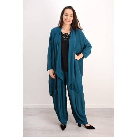 Grizas Rena Silk Crinkle Jacket - Green