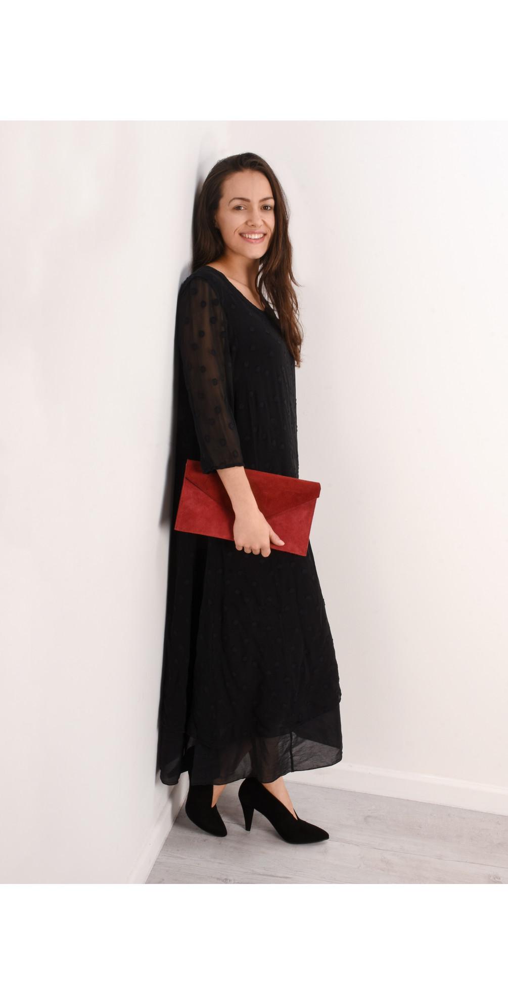Ottli Silk Devore Dress  main image
