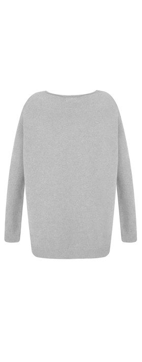 Fenella  Marty Easyfit Supersoft Knit Jumper Grey