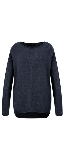 Fenella  Marty Easyfit Supersoft Knit Jumper Navy