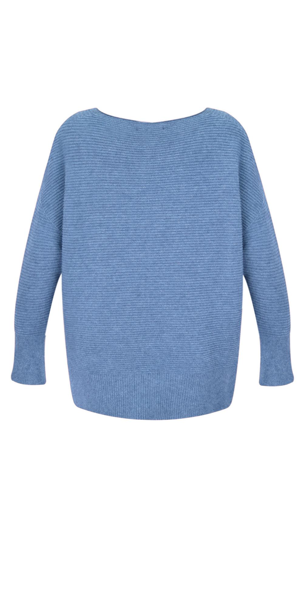 Frenchie Easyfit Rib Knit Jumper main image