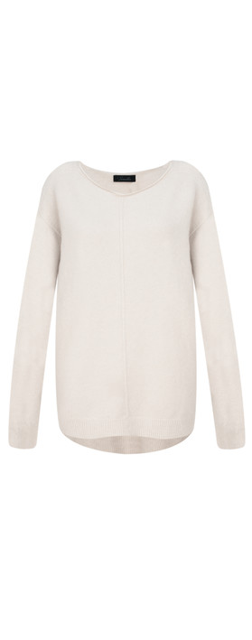 Fenella  Marty Easyfit Supersoft Knit Jumper Cream