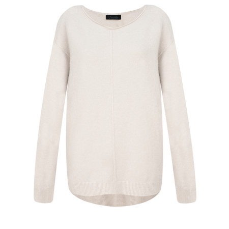 Fenella  Marty Easyfit Supersoft Knit Jumper - Off-White