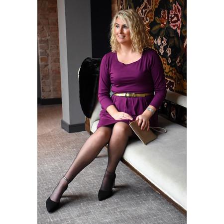 Masai Clothing Nova Jersey Dress - Purple