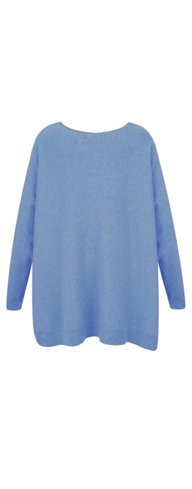 Fenella  Allie Oversized Soft Knit Jumper Marine