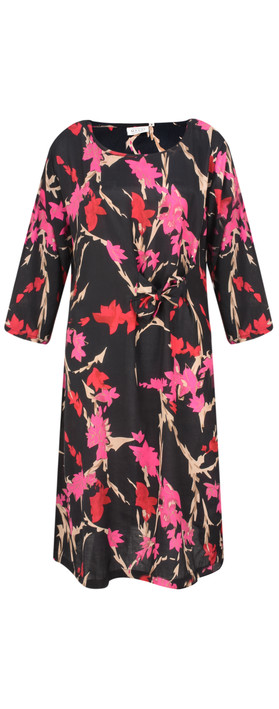 Masai Clothing Nonie Floral Dress Pink Org