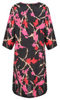 Masai Clothing Pink Org Nonie Floral Dress