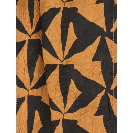 Masai Clothing Along Geometric Scarf - Brown