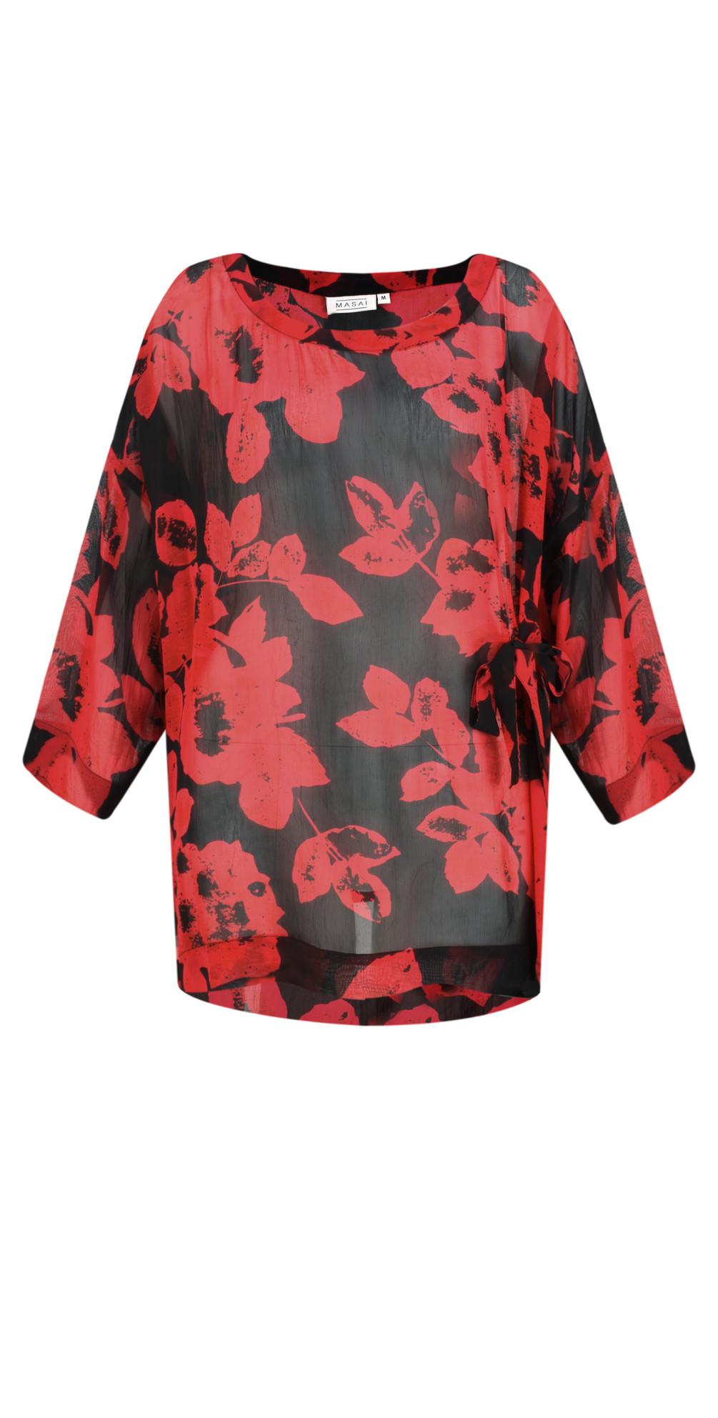 Bulma Bold Floral Top main image