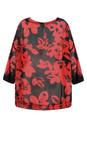 Masai Clothing Ruby Org Bulma Bold Floral Top