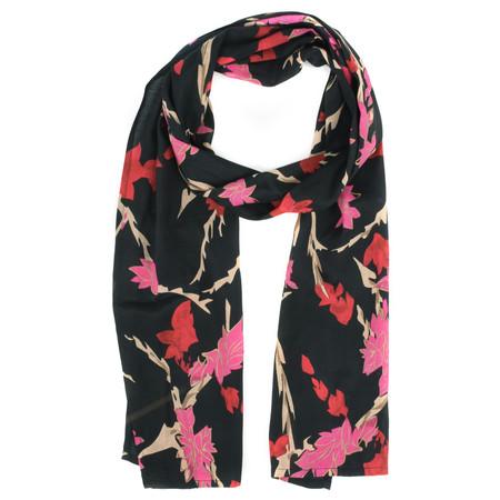 Masai Clothing Along Floral Scarf - Pink