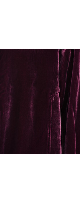 Masai Clothing Joella Velvet Jacket Wine