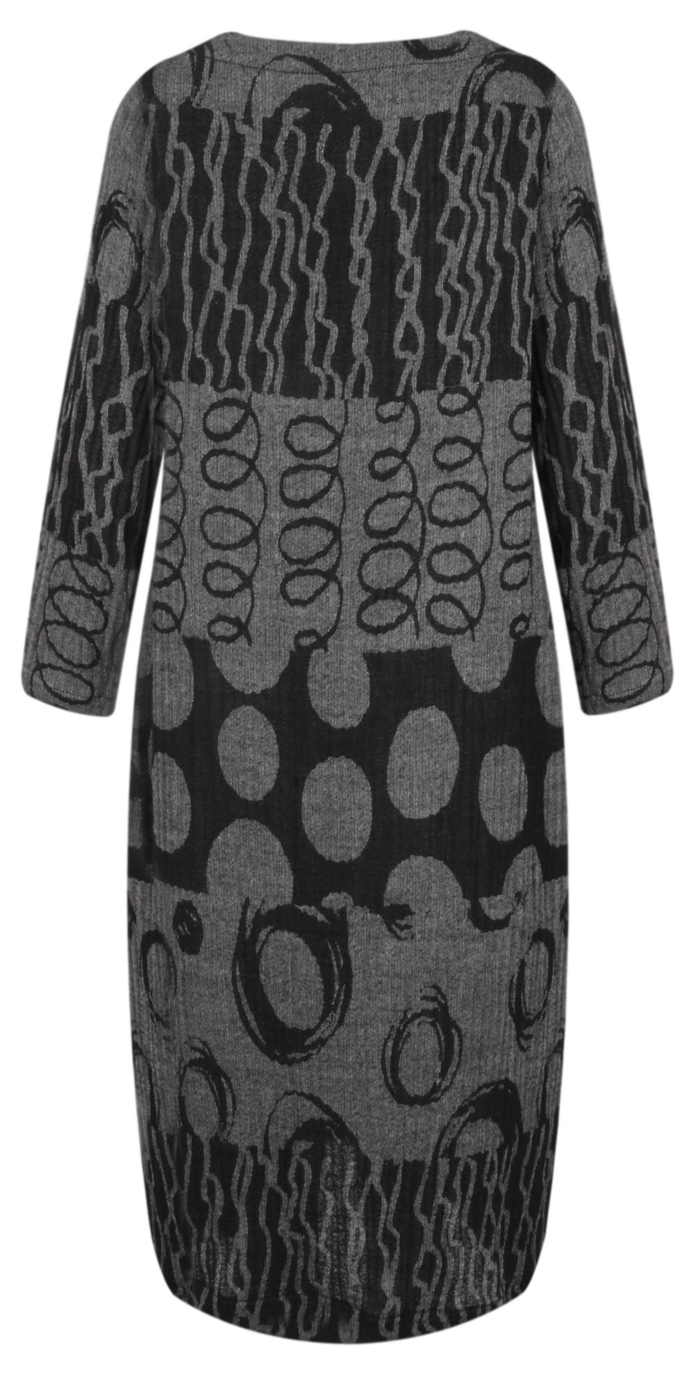Abstract Jacquard Dress main image