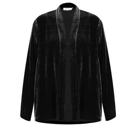 Masai Clothing Joella Velvet Jacket - Black