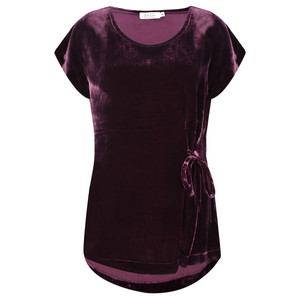 Masai Clothing Emely Velvet Top
