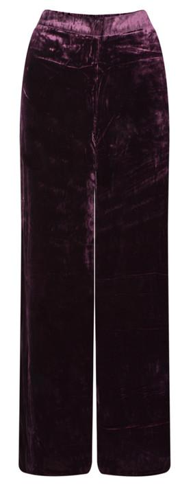 Masai Clothing Perinus Velvet Trouser Wine