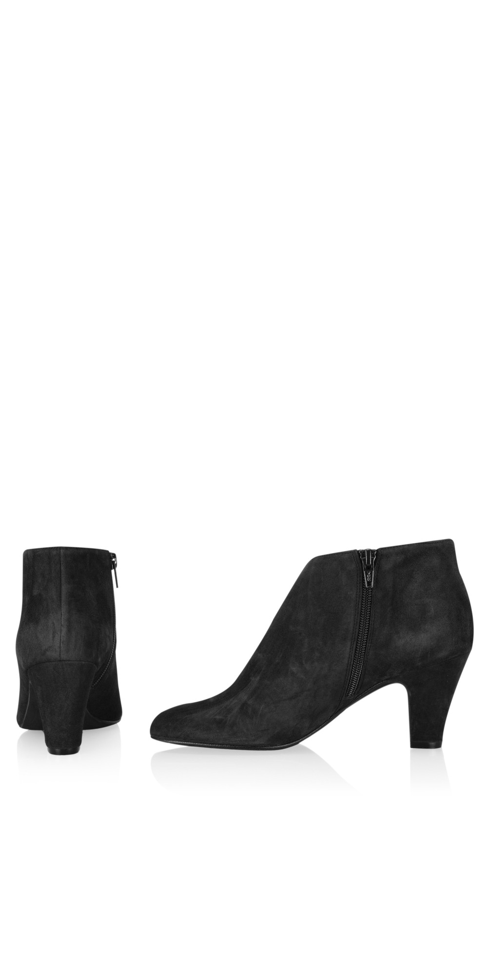 Xelipe Black Suede Ankle Boot main image
