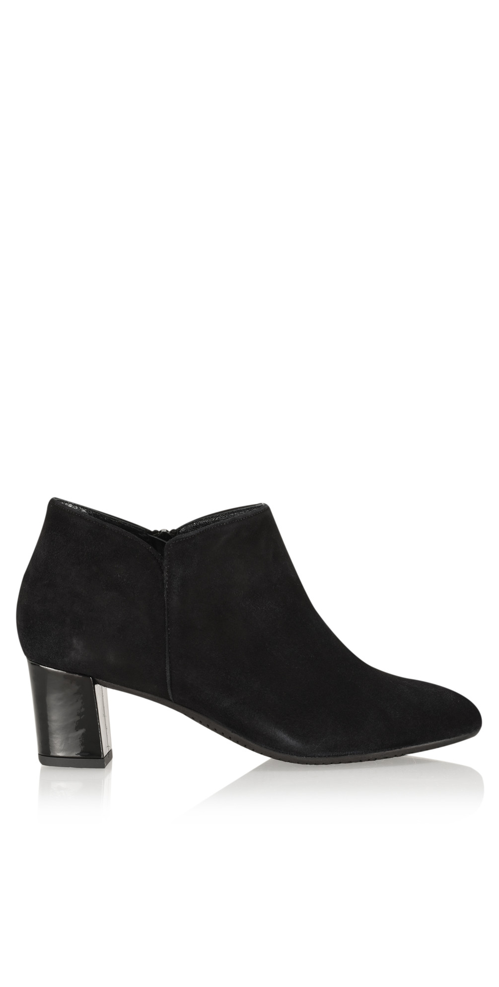 343477876a78 Gemini Label Isco Suede Ankle Boot in Black