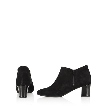 Gemini Label Isco Suede Ankle Boot - Black