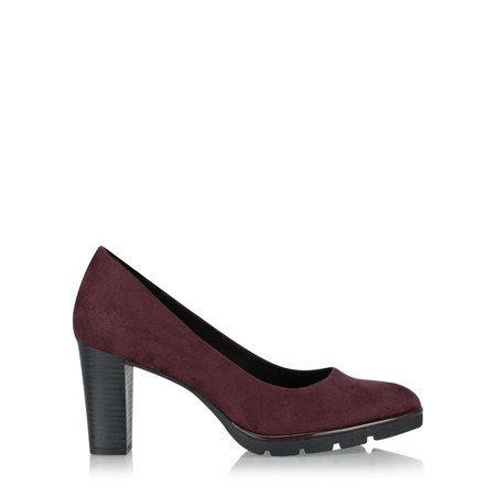 Marco Tozzi Johanna Modern Court Shoe - Purple