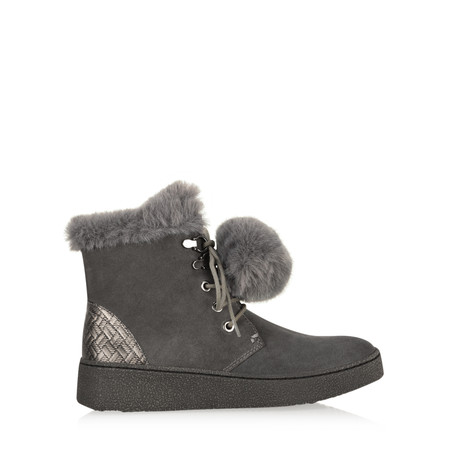 Marco Tozzi Amelia Pompom Boot - Grey