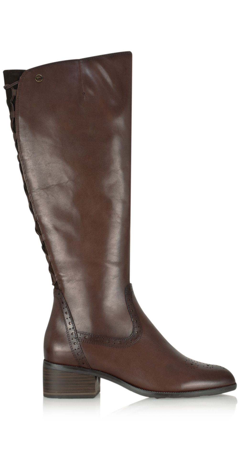 Beatrix Long Lace Back Boot main image