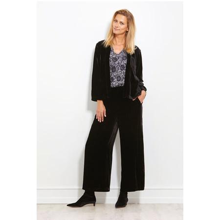 Masai Clothing Joella Velvet Jacket - Black