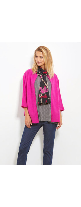 Masai Clothing Along Floral Scarf Pink Org