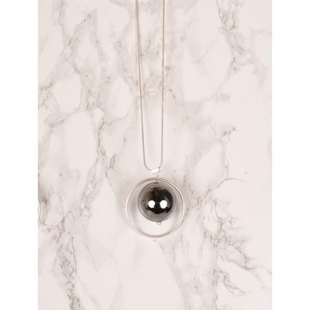 NOUV-ELLE Sorbi Long Orbit Necklace - Metallic