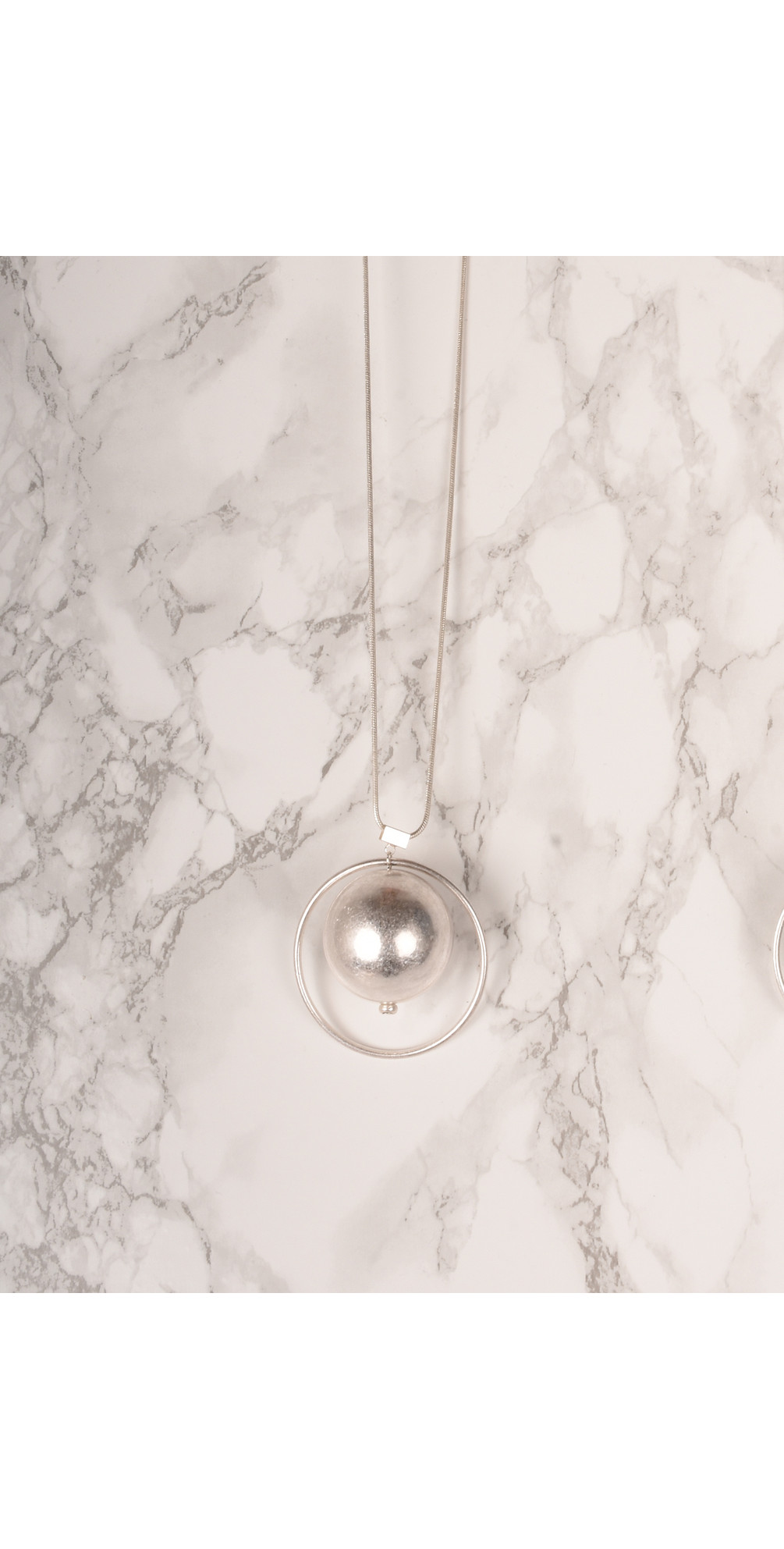 Sorbi Long Orbit Necklace main image