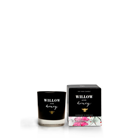 Willow and Honey Pink Pepper And Musk Mini Candle - Transparent