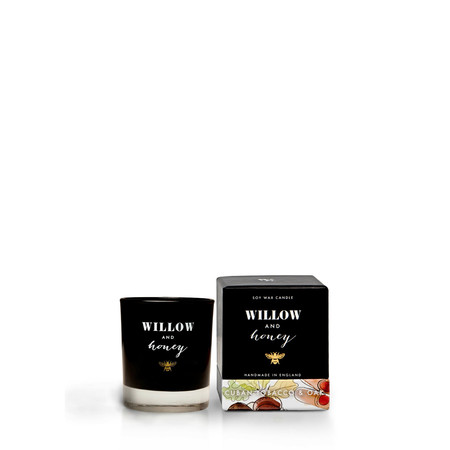 Willow and Honey Cuban Tobacco And Oak Mini Candle - Transparent
