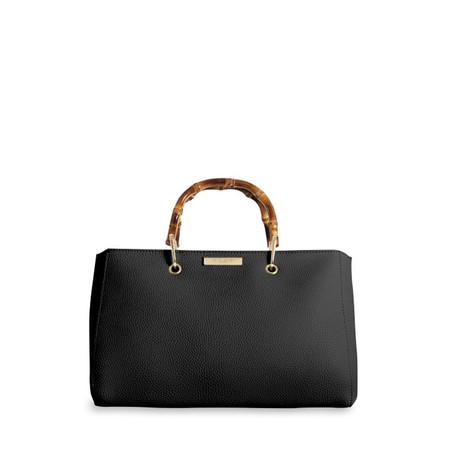 Katie Loxton Avery Bamboo Handbag - Black
