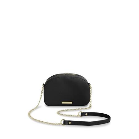 Katie Loxton Half Moon Handbag - Black