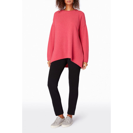 Sahara Honeycomb Knit Jumper - Purple
