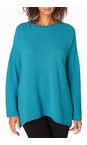 Sahara Kingfisher Honeycomb Knit Jumper
