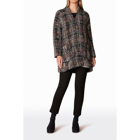 Sahara Tweed Check Boucle Jacket - Multicoloured