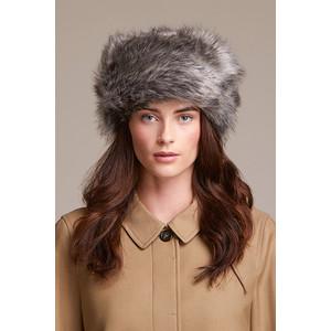Helen Moore Pillbox Faux Fur Hat