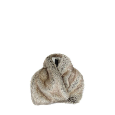 Helen Moore Truffle Asymmetric Scarf - Brown