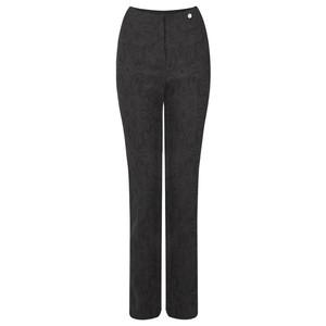 Robell Trousers Rose Jacquard Full Length Trouser