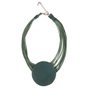 NOUV-ELLE Toremi Circle Pendant Necklace