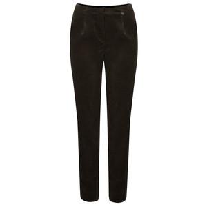 Robell Trousers Marie Stretch Cotton Velvet Slim Full Length Trouser