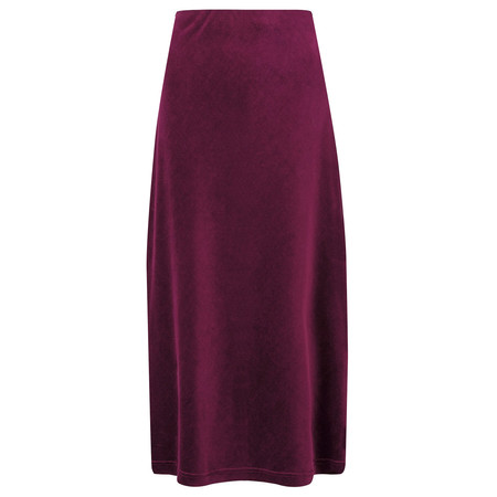 Adini Opera Velour Jessi Skirt - Red