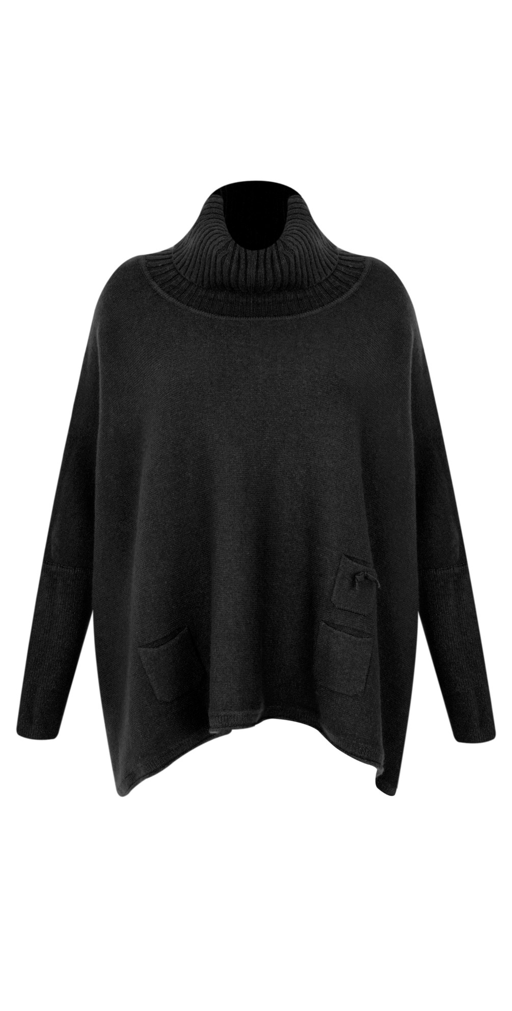 Linzy Roll Neck Oversized Knit Jumper main image