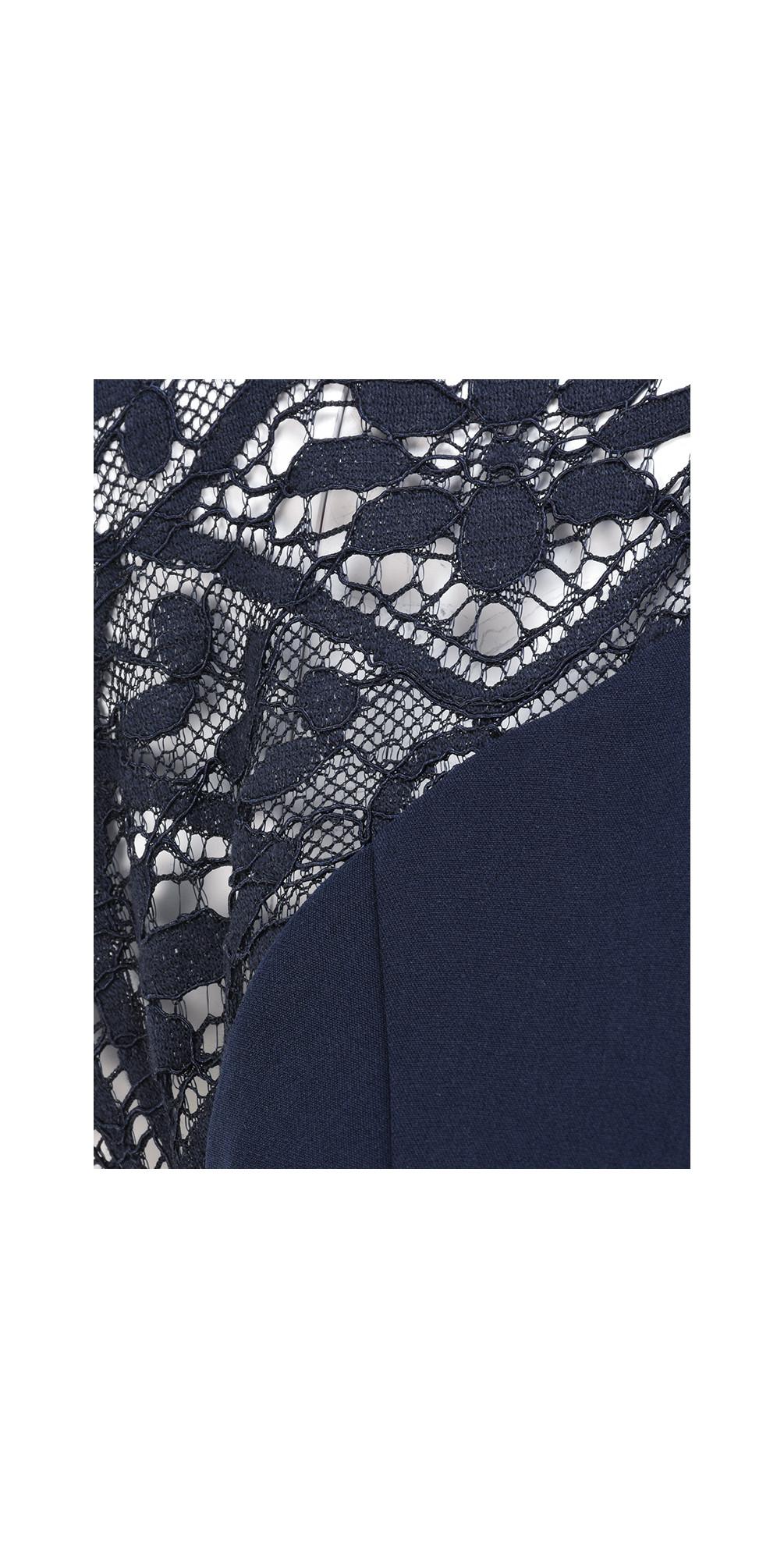 Lace Shoulder Dress main image
