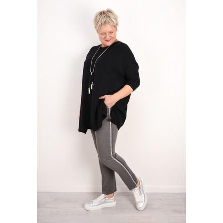 Robell Trousers Ginger Smart Fabric Full Length Trouser - Blue